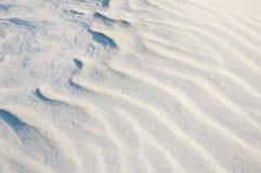 De afwijkingen van de sneeuw Royalty-vrije Stock Foto's