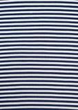 De afwisselende banden van zwarte witte stof Stock Afbeeldingen