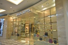 De afzet van Braunbuffel in Alamanda Shopping Mall-putrajaya Royalty-vrije Stock Afbeelding
