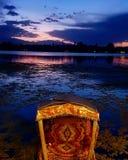 De Agenda's van Kashmir - een nacht bij dal meer royalty-vrije stock afbeelding