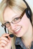 De Agent van het Call centre stock fotografie