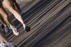 De agenten van de marathon Stock Afbeeldingen
