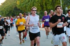 De Agenten van de Marathon van Miami Stock Foto's