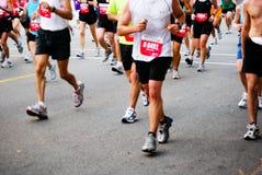 De agenten van de marathon Royalty-vrije Stock Afbeelding