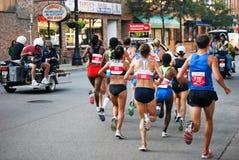 De agenten van de marathon Royalty-vrije Stock Fotografie