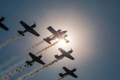 19 de agosto de 2017 campo de aviación del ` s de Orlovk Rusia, región de Tver Día del ` del día de fiesta de ` de los aviones imagen de archivo