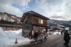 12 de agosto de 2018, cultura de Nagano Japão e casa da arquitetura em Nagano japão imagem de stock royalty free