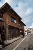 12 de agosto de 2018, cultura de Nagano Japão e casa da arquitetura em Nagano japão imagens de stock royalty free