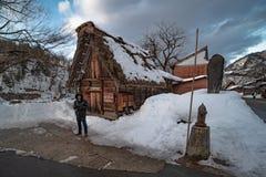 12 de agosto de 2018, cultura de Nagano Japão e casa da arquitetura em Nagano japão imagens de stock