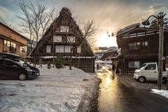 12 de agosto de 2018, cultura de Nagano Japão e casa da arquitetura em Nagano japão fotos de stock