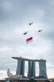 9 de agosto de 2014: Día nacional de Singapur Fotos de archivo libres de regalías