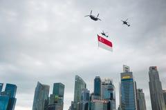 9 de agosto de 2014: Día nacional de Singapur Imagen de archivo