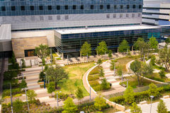 19 de agosto de 2015 - Dallas, Tejas, los E.E.U.U. La nueva adición a Parkl Fotografía de archivo