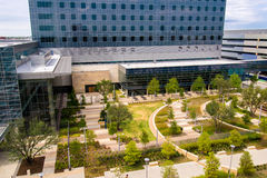 19 de agosto de 2015 - Dallas, Texas, EUA A adição nova a Parkl Imagens de Stock