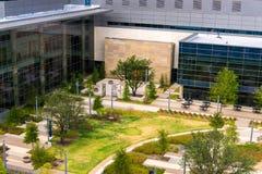 19 de agosto de 2015 - Dallas, Texas, EUA A adição nova a Parkl Fotografia de Stock Royalty Free