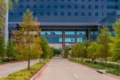 19 de agosto de 2015 - Dallas, Texas, EUA A adição nova a Parkl Fotos de Stock Royalty Free