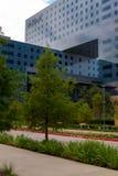 19 de agosto de 2015 - Dallas, Texas, EUA A adição nova a Parkl Imagem de Stock