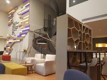 7 de agosto de 2017, Kuala Lumpur El diseño de Ibis diseña el hotel de Kuala Lumpur Sri Damansara Foto de archivo libre de regalías