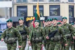 24 de agosto de 2016 Kyiv, Ucrania Desfile militar Fotos de archivo libres de regalías