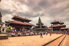 18 de agosto de 2014 - quadrado real de Patan, Nepal Imagens de Stock