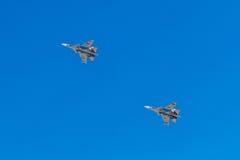 6 de agosto de 2016 Ryazan, Rússia Os aviões do ar militar Imagens de Stock
