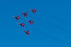 6 de agosto de 2016 Ryazan, Rússia Os aviões do ar militar Foto de Stock