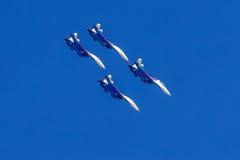 6 de agosto de 2016 Ryazan, Rússia Os aviões do ar militar Fotos de Stock