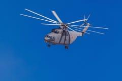 6 de agosto de 2016 Ryazan, Rússia Os helicópteros das forças armadas Foto de Stock
