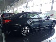 13 de agosto, Shah Alam, Malásia Carro novo nacional Imagens de Stock