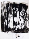 De agressieve achtergrond van de vrees expressieve moderne kunst royalty-vrije illustratie