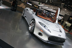 De Aileron van Spyker C8 - de Show van de Motor van Genève van 2009 Stock Afbeeldingen