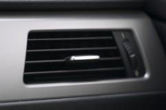 De airconditioning van de auto stock foto
