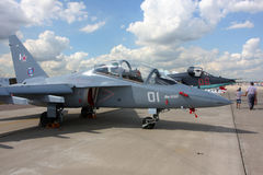 `De Airshow 100 do russo anos de `da força aérea. Foto de Stock Royalty Free