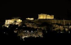 De akropolis Stock Foto's