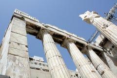 De akropolis royalty-vrije stock fotografie