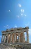 De akropolis, Athene Stock Fotografie