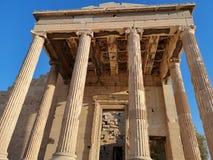 De akropolis van Athene, Griekenland Stock Afbeelding