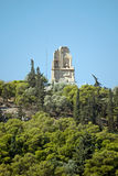 De akropolis van Athene, Griekenland Stock Fotografie