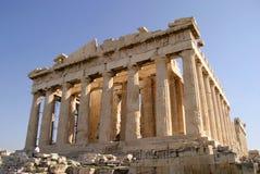 De Akropolis van Athene, Parthenon Royalty-vrije Stock Afbeeldingen