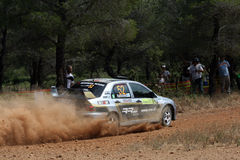 De Akropolis van de Verzameling WRC Royalty-vrije Stock Foto's