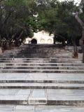 De akropolis van Griekenland Athene Stock Afbeelding
