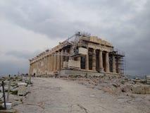 De akropolis van Griekenland Athene Stock Foto's