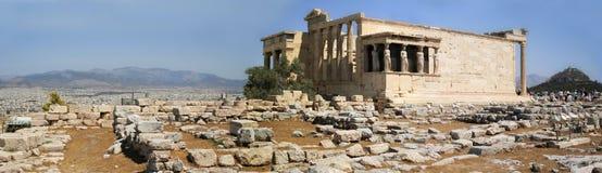 De Akropolis van het panorama, Athene, Griekenland Stock Foto's
