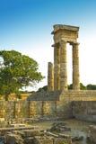De Akropolis van Rhodos Royalty-vrije Stock Afbeeldingen