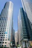 De aktuella Salesforce kontorsbyggnaderna i i stadens centrum San Francisco Arkivfoton