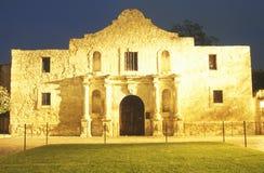 De Alamo Historische Opdracht Stock Foto