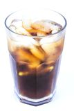 De Alcoholische Drank van Cuba Libre, Cokes met de Niet-alkoholische Drank van het Ijs Royalty-vrije Stock Foto's