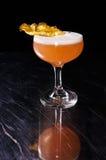 De alcoholische recreatieve cocktail van de ananaszomer Royalty-vrije Stock Fotografie