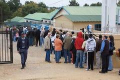 De Algemene verkiezingen 2009 van Zuid-Afrika Stock Foto