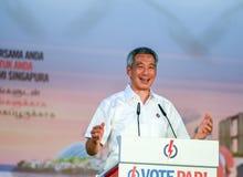 De Algemene verkiezingen 2015 van Singapore Stock Afbeelding
